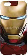 Retail iron Man phone Cover For iphone 4 4S 5 5S SE 5C 6 6S Plus For iPod Touch 4 5 6 Back Skin Plastic Hard Cell Mobile Case
