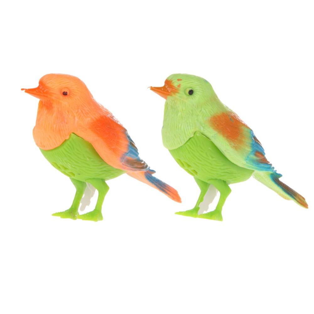 Гаджет  Plastic Sound Voice Control Activate Chirping Singing Bird Funny Toy Gift PLFL None Игрушки и Хобби