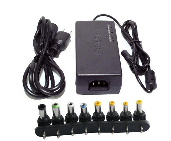 50 pcs/lot high quality universal lap notebook charger power 96W ac adapter(China (Mainland))