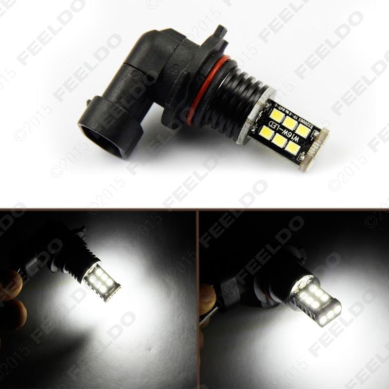 10Pcs 12V/24V DC Car/Truck White 9005 15SMD 2835-Chip Led Fog Light Headlight Lamp Bulbs #J-3109<br><br>Aliexpress