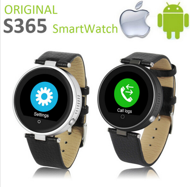 SOS ZGPAX S365 Bluetooth Smart Watch Round Wrist Smartwatch Wristwatch Phone Mate for IOS Samsung Huawei HTC Android iPhone 6 6S