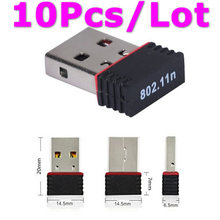 Buy 10Pcs RALINK RT5370 150Mbps Mini Wireless USB WiFi Adapter Wi Fi Ethernet Adaptador Wi-Fi Network LAN Card Laptop PC for $26.99 in AliExpress store