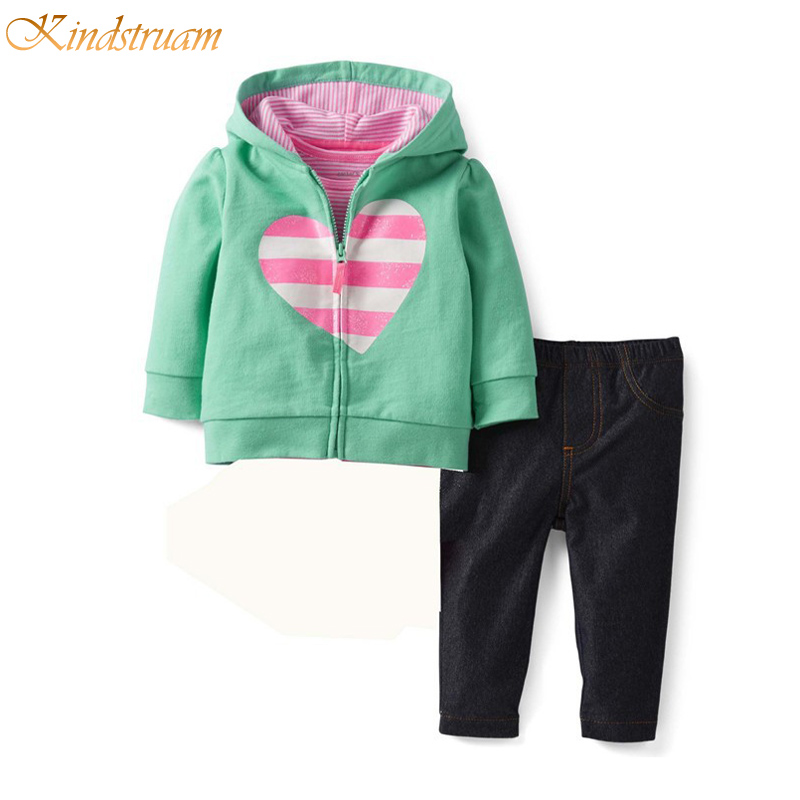 Carter 2016 Baby Spring Casual Clothing Sets 100% Cotton Hooded Coat + Pants Twinsets for Infant Boys &amp; Girls Fall Suits, HC668<br><br>Aliexpress