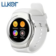Aiwatch G3 MTK2502 полный круговой bluetooth-смарт часы сим-gprs носимых устройств фитнес трекер Smartwatch для Apple , Android