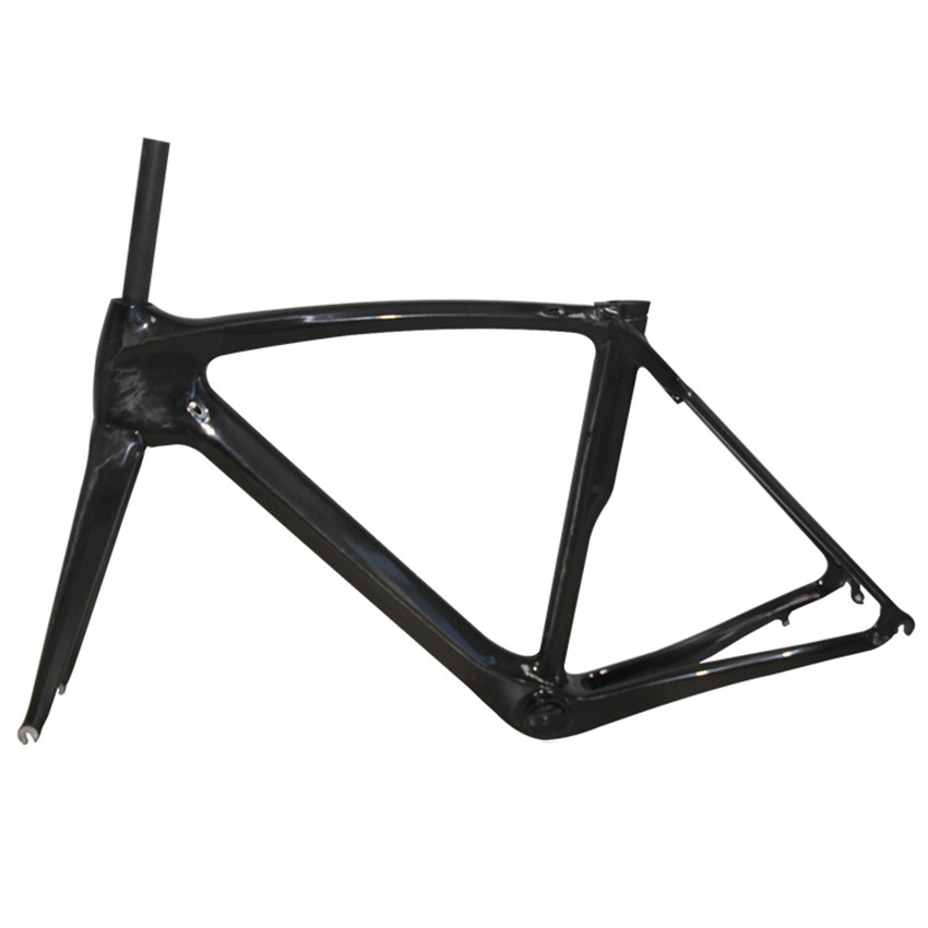 2017 newest hot sell customized t800 road bicycle frame ud carbon road bike frameset with frameforkseat postclampheadset