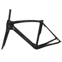 Buy 2017 Newest Hot Sell Customized T800 Road Bicycle Frame UD Carbon Road Bike Frameset Frame+Fork+Seat post+Clamp+Headset for $383.46 in AliExpress store