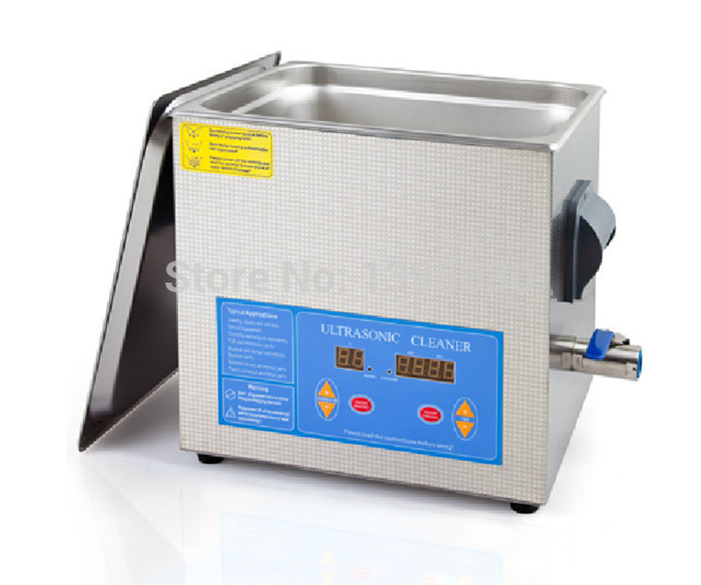 Free Shipping By DHL 1PC Digital VGT-1990QTD 110/220V Professional Ultrasonic Cleaner Jewelry Bath Household 9L 200W Free Basket(China (Mainland))