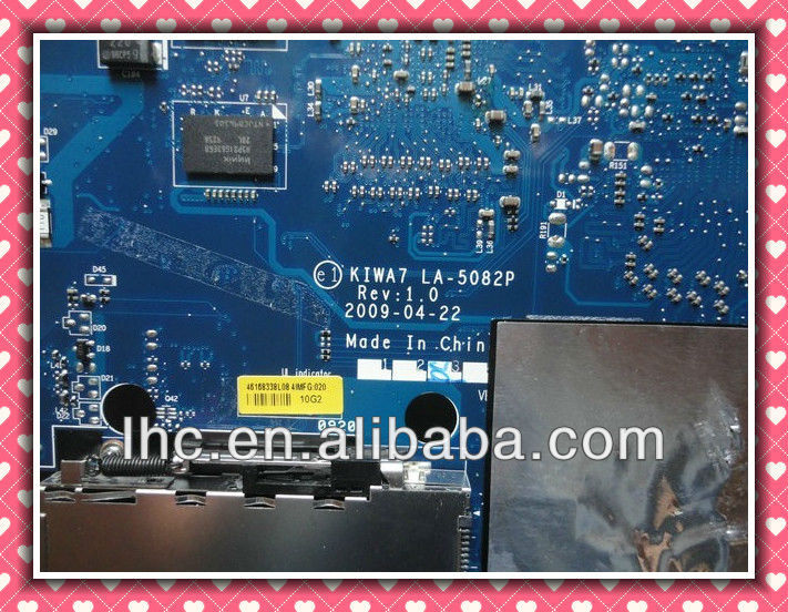 for lenovo g550 motherboard for lenovo g550 KIWA7 L08S LA-5082P 100% Tested