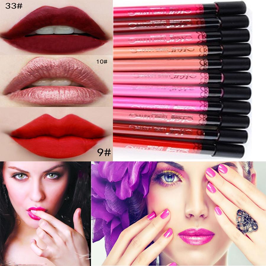 New Waterproof Elegant Daily Color liquid Lipstick matte smooth lip stick lipgloss Long Lasting Sweet girl Lip lipstick to mouth(China (Mainland))