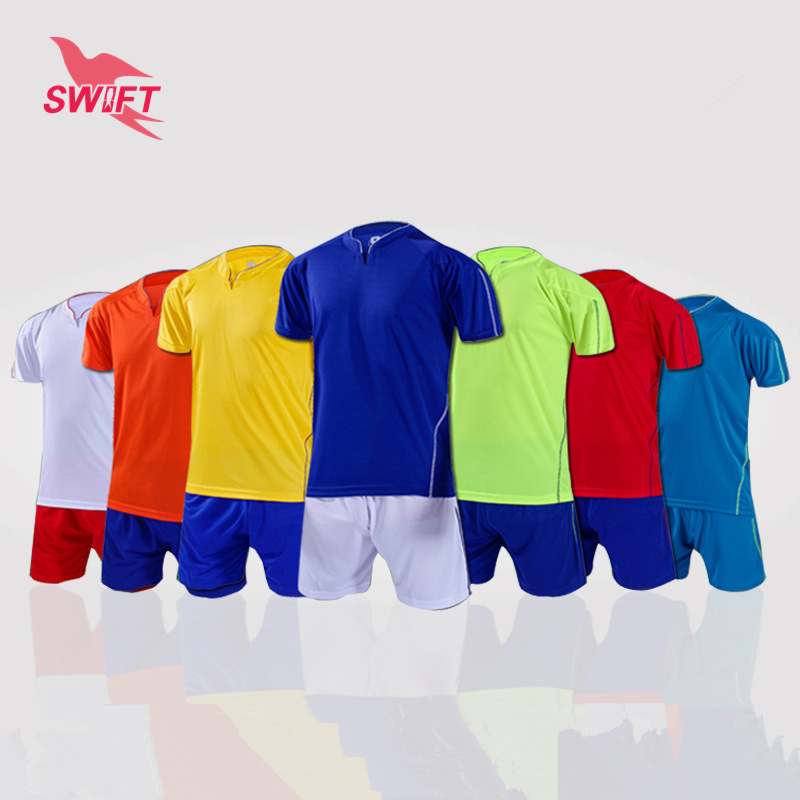 High Quality Breathable Quick Dry Adult Soccer Set 2016 DIY Soccer Uniforms Cheap Football Kit Football Tracksuit Sport Jerseys(China (Mainland))
