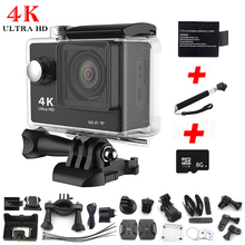 Action Camera Eken H9 Ultra HD 4K WiFi 1080P go pro camera 2.0 LCD 170D lens Helmet Cam 30M Underwater waterproof+monpond+card