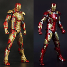 """Buy 2Styles 7"""" 18cm narverThe Age Ultron Iron Man Mark 42 Mark 43 Boxed PVC Action Figure Collectible Model Toy for $17.49 in AliExpress store"""