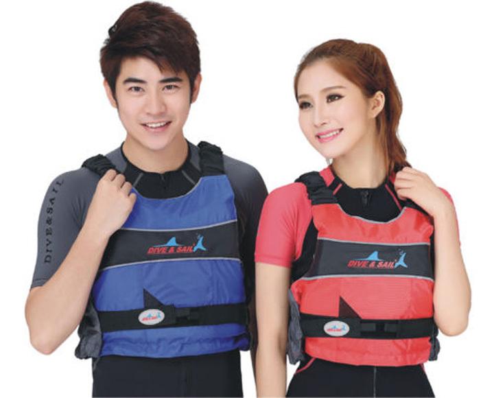 Adult&Youth snorkel Life vest Polyester Foam Kayak Ski Buoyancy Aid Impact Pfd Life Jacket vest Free Shipping(China (Mainland))