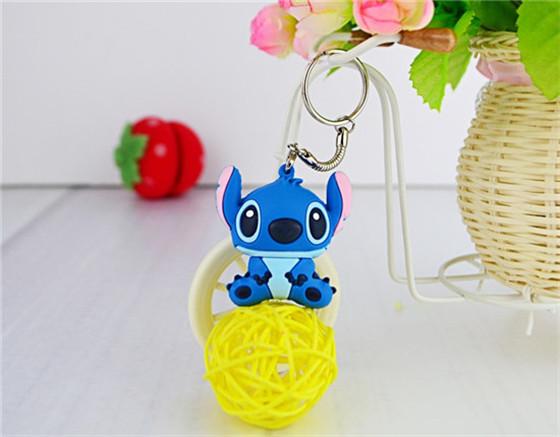 100% real capacity usb creativo cute blue Stitch USB Drive Flash USB 2.0 Flash Memory Drive Sticks Disk 8G 16G 32G S38 BB(China (Mainland))