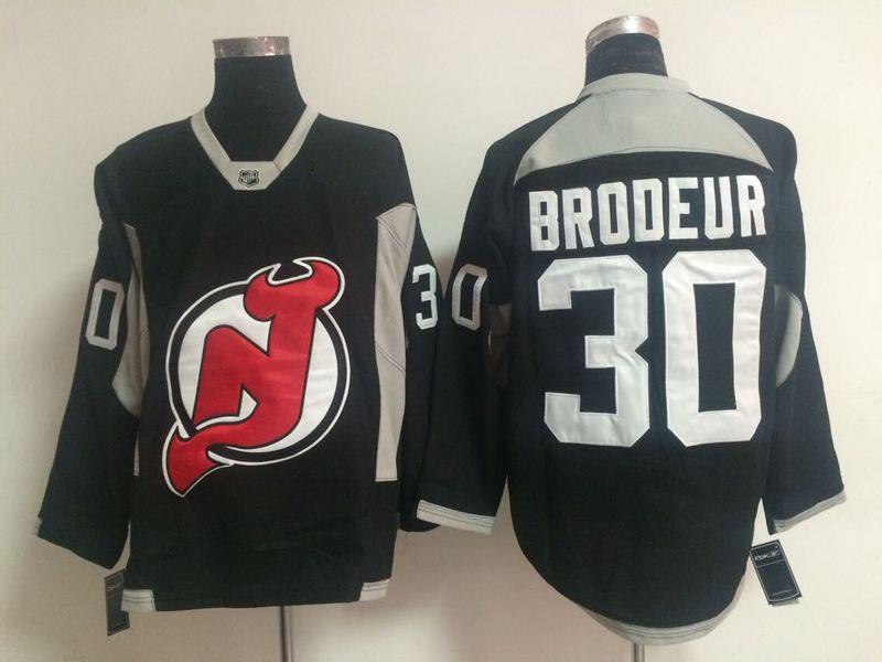 Free Shipping 2015 New New Jersey Devils Mens Jerseys #30 Martin Brodeur Black Ice Hockey Jersey 2131<br><br>Aliexpress