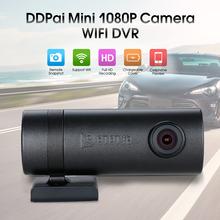 DDPai Mini WIFI Car DVR HD1080P Camera Digital Video Recorder Dash Road Camcorder APP Monitor Night Vision for IOS Android Phone(China (Mainland))