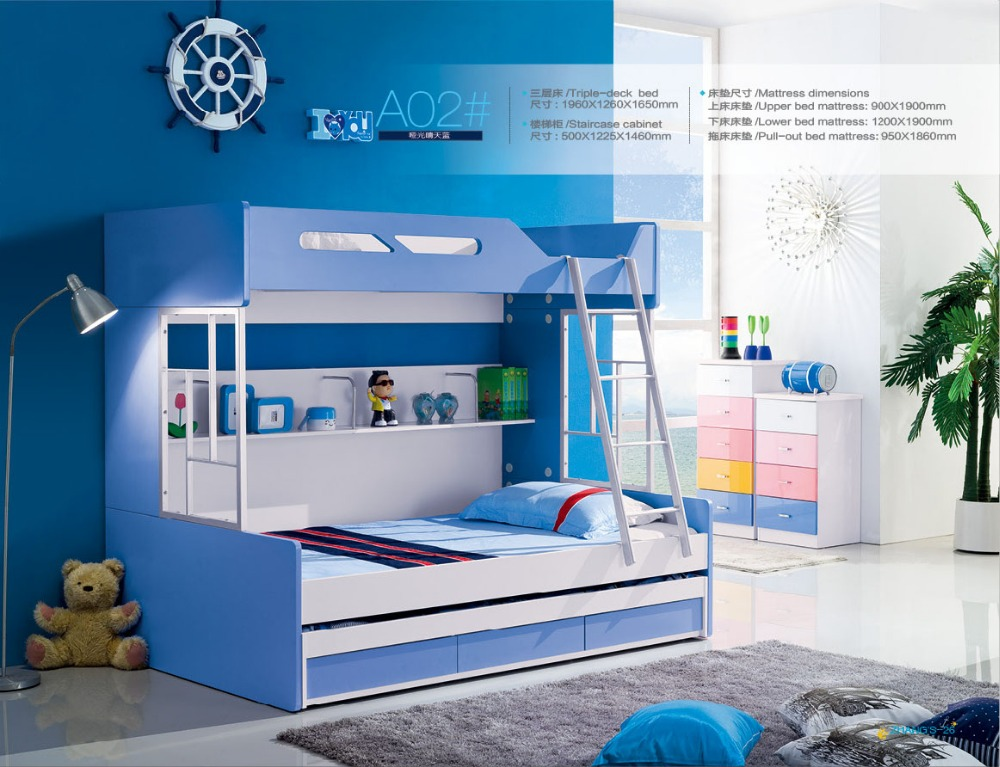2016 Bunk Beds Camas Childrens Bunk Beds With Stairs Top