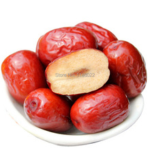 Chinese red Jujube Premium red date Dried fruit Green nature 100g