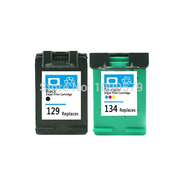 Remanufactured Ink Cartridge for HP129 134 hp deskjet 6940 5943 5940 6943 6983(China (Mainland))