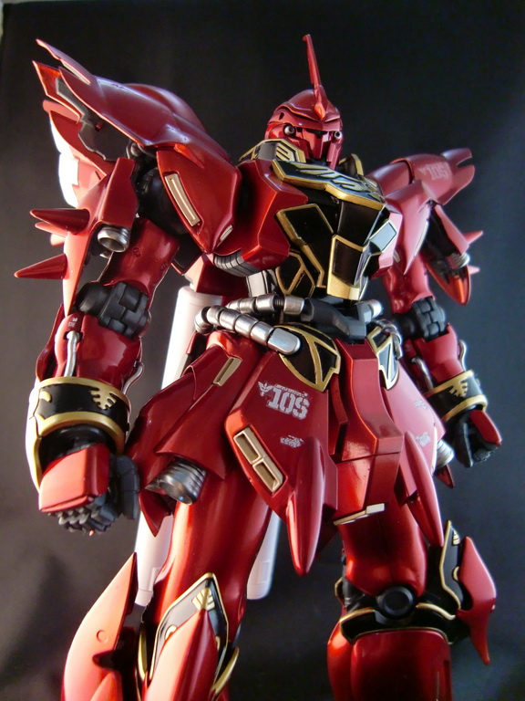 Brand GG Anime 1/100 MG Gundam Sinanju MSN-06 Assemble Model Action Figure Red Fighting Robot Collection Toys<br><br>Aliexpress