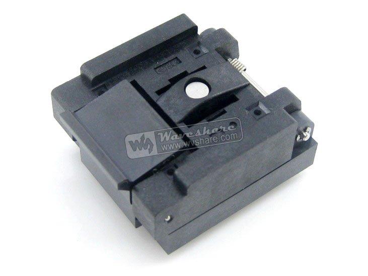 QFN28 MLP28 MLF28 QFN-28(36)BT-0.5-02 QFN Enplas IC Test Burn-in Socket Programming Adapter 0.5mm Pitch(China (Mainland))