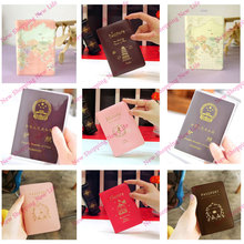 Fashion New Passport Holder Documents Bag Sweet Trojan Aircraft  maps Travel Passport Cover Card Case(China (Mainland))