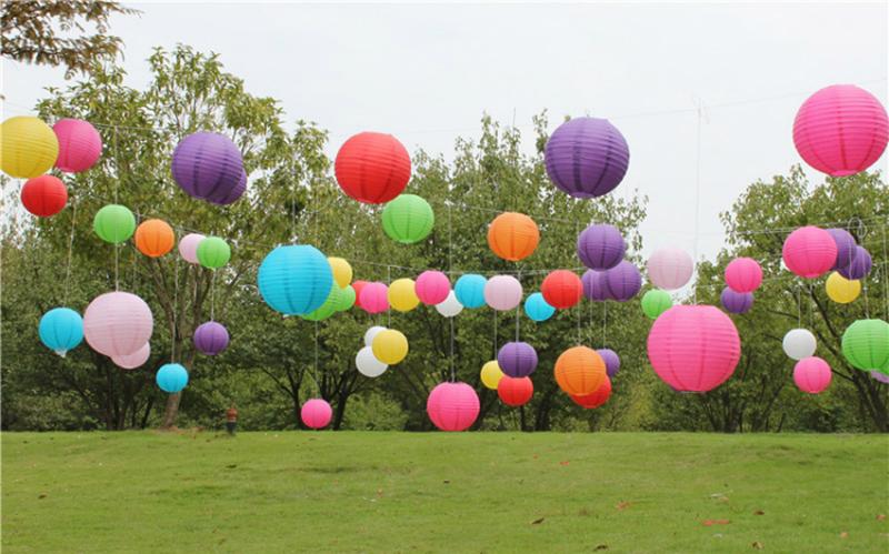 10-40cm China Paper Lantern for kids Birthday Wedding festive party ...