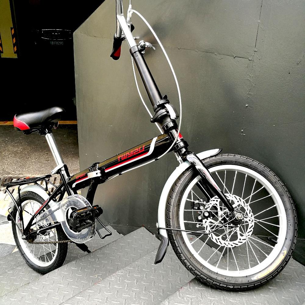 "Black racing dirt road bike 16"" children bicycle from China bike cycle folding bike for women(China (Mainland))"