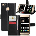 For Huawei P9 Lite Phone Cover PU Leather Stand Phone Case for Huawei P9 Lite Wallet