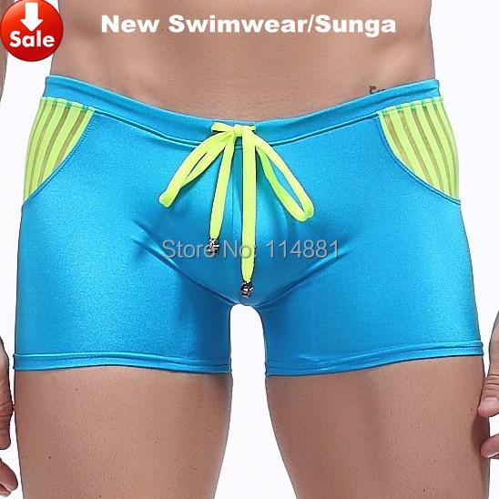 Free Shipping Men's Swimwear Nylon Surf Sunga Masculina Wangjiang Swimming Trunks for Men/banador PJ1014 Swim Men Hot Selling(China (Mainland))