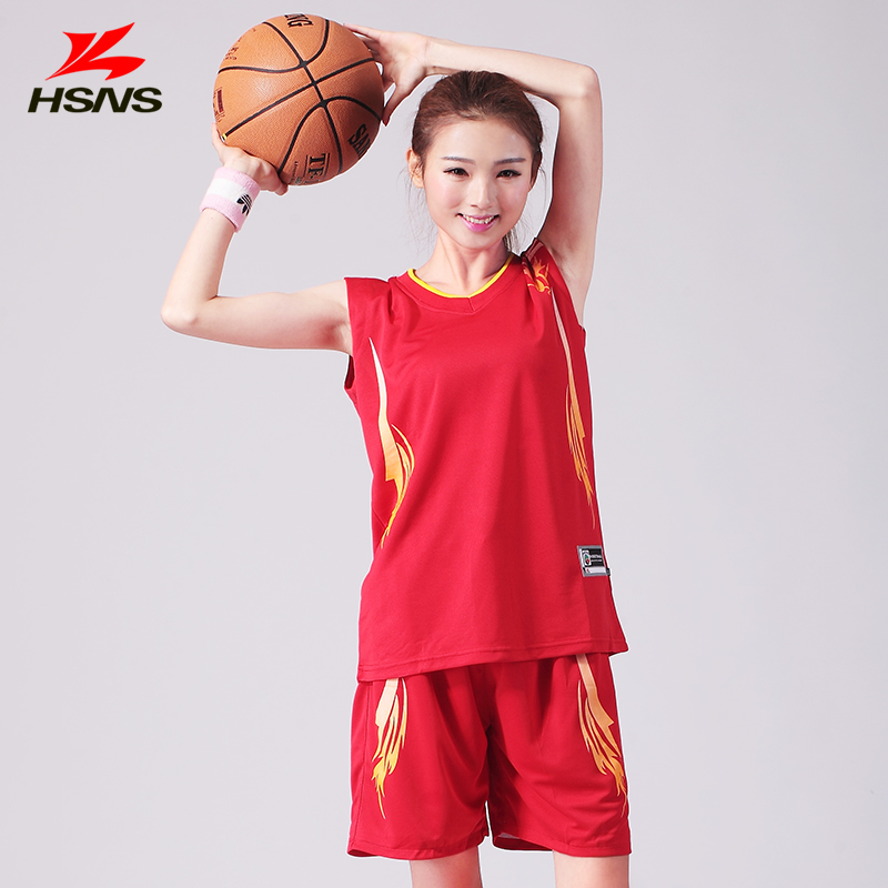 Women Basketball Suit Lady Football Training Suit Set Custom Logo Women's Game Jersey/shirt +shorts Grou Can Be Printed New 2016(China (Mainland))