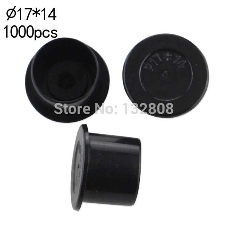 17MM tattoo inkcups Caps 1000pcs Plastic Tattoo Pigment Ink Cup Self-standing Large Size black Cup Supply tattoo Free Shipping(China (Mainland))