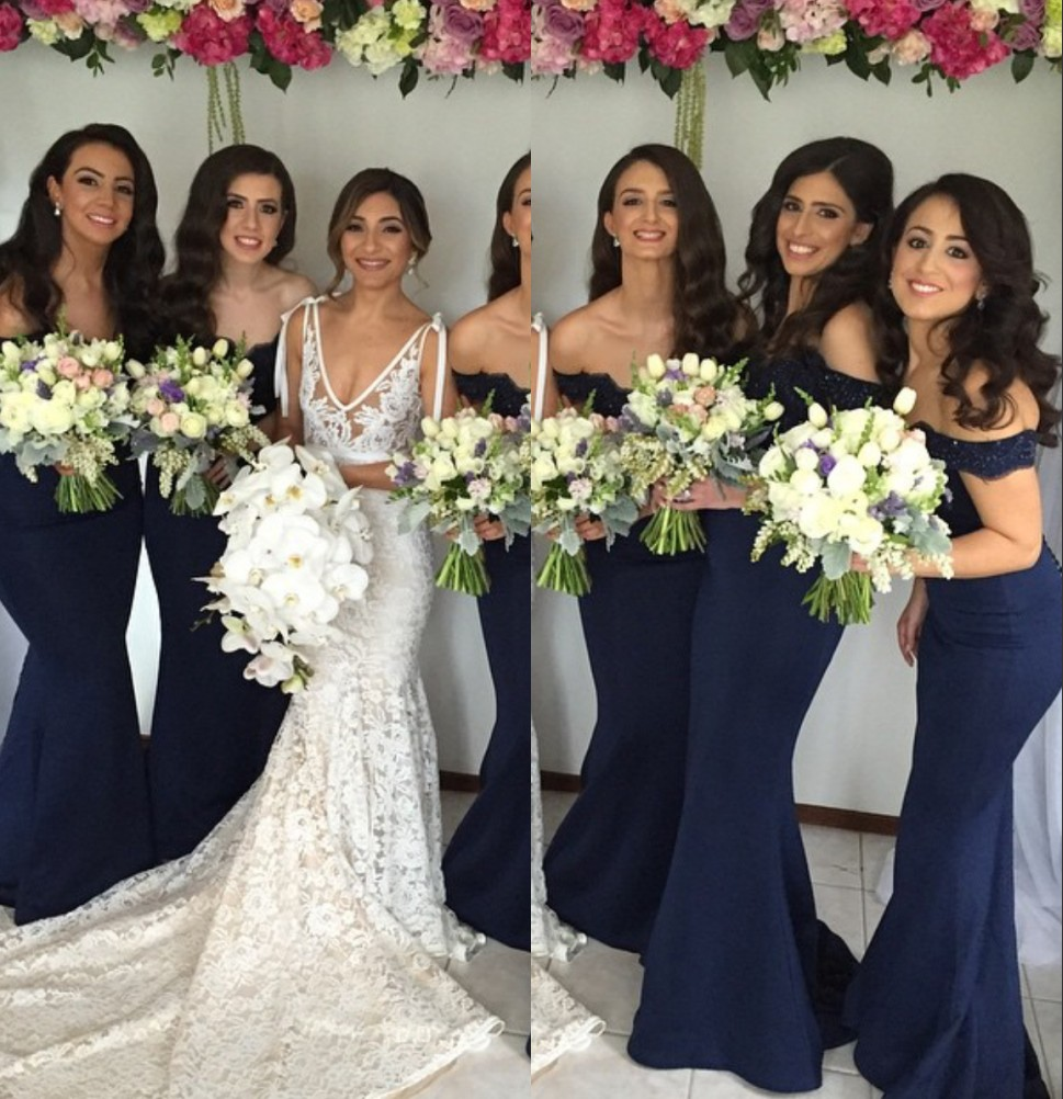 Popular dark ivory bridesmaids dresses buy cheap dark ivory covered button lace bridesmaid gown dark navy bluepeachivorychampagnesilver ombrellifo Image collections