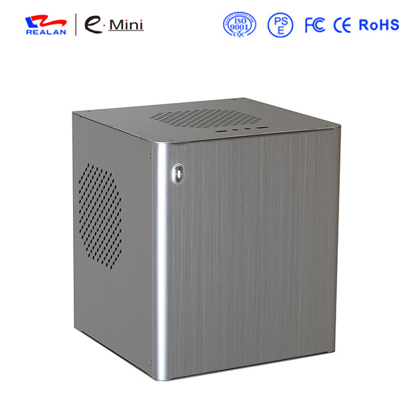 Aluminum Cube Mini-ITX and Micro ATX PC Case with best price E-D3(China (Mainland))