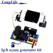 Lf-2205csoh, Ac220v / AC110V 5 Гц/ч 5 г 5 г — 6 Гц/ч озонатор керамические трубы тип кит промышленное озон генератор 5 г