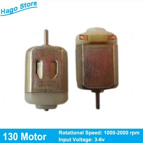Support Retail !! Best Quality 130 Motor 1000-2000rpm Small Electric Motor for Toy Cars and DIY Models