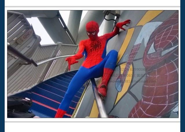 DB23580 Adult spiderman costume-14