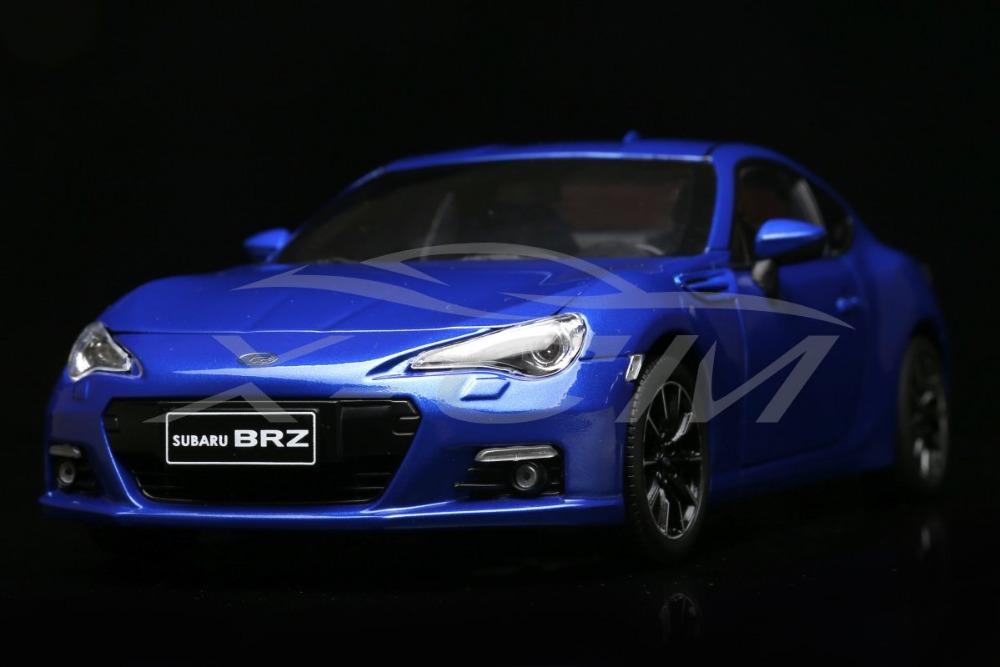 Diecast Car Model Subaru BRZ 1:18 (Blue) + SMALL GIFT!!!!!!!!!!!(China (Mainland))