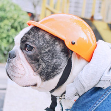 Собака Кошка Шляпа Собака мотоциклетный Шлем для Собак Pet костюм ABS пластиковые игрушки Шлем крышки мотоцикла для собак 3 Размера 5 цвета