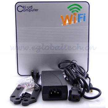 Add Wifi Mini PC Windows XP 2G DDR3 RAM, 160G HDD Dual Core Thin Client PC Intel D2500 Industrial PC