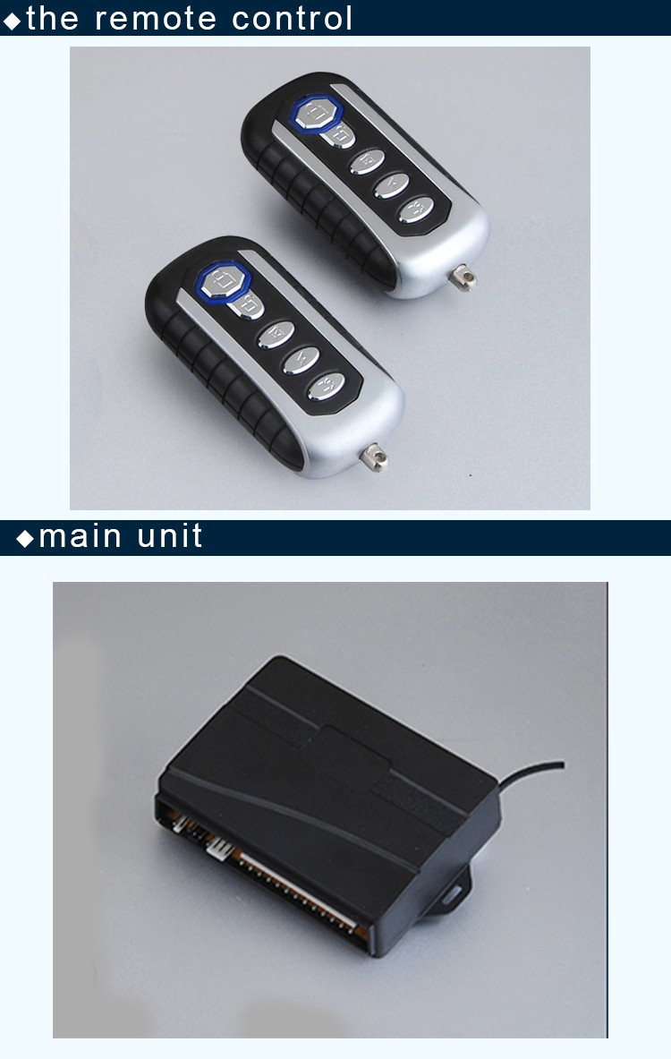 Most Reasonable Price Universal Car Security Alarm System With Keyless Entry Function Central Door Lock Remote Open The Trunk