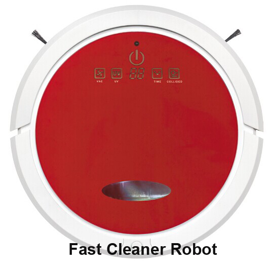 Newest Design Wet And Dry Vacuum Cleaner Robot With 150ml Water Tank Independent Wet Mop Part and Dry Mop Part(China (Mainland))