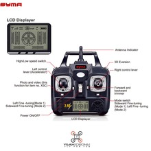Syma X5C Spare Parts 2.4GHz Remote Controller Black Transmitter with LCD Displayer for X5 X5C-1 RC Helicopters Quad copters