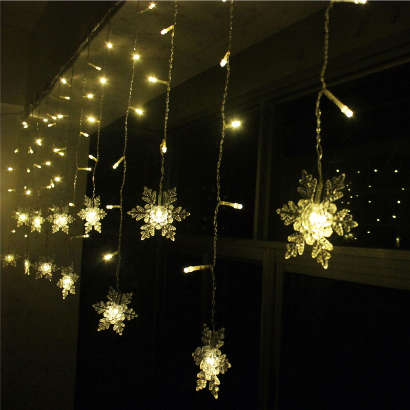 Popular Snowflake Icicle Lights-Buy Cheap Snowflake Icicle Lights lots from China Snowflake ...