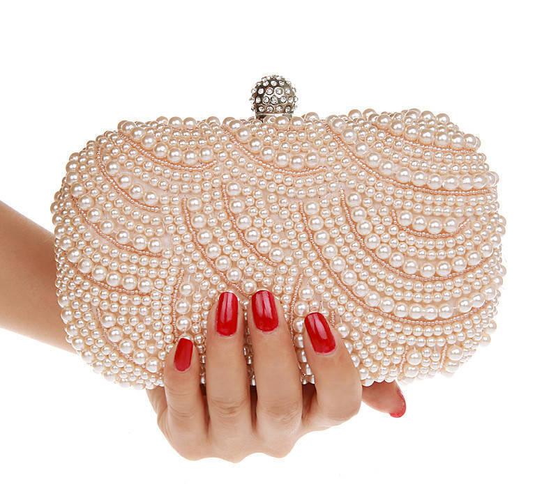 2013 evening bag pearl bag day clutch fashion clutch quality banquet bag bridal bag womens handbag<br><br>Aliexpress