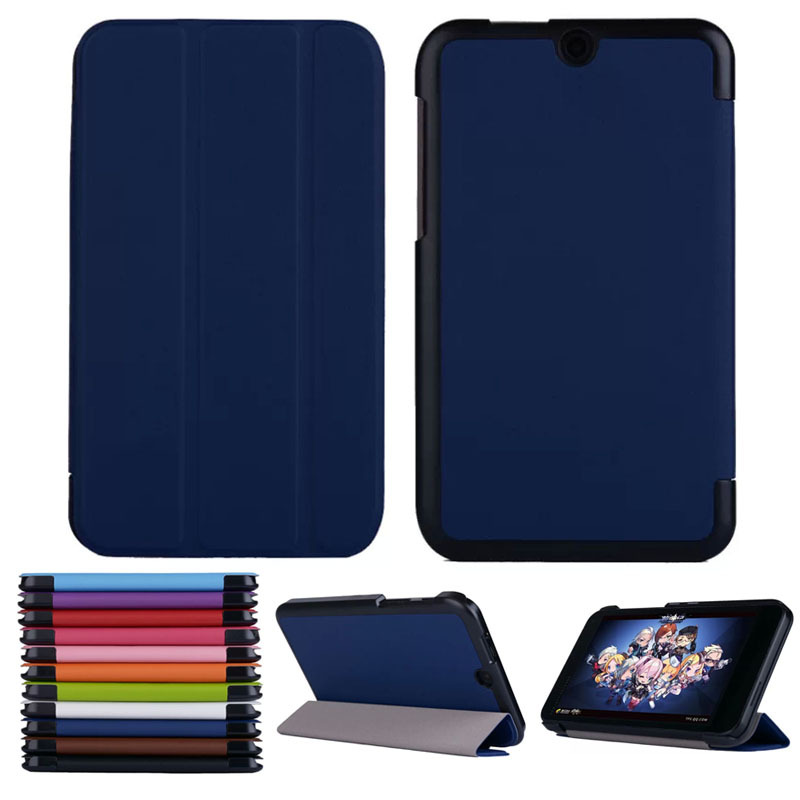 """Scolour Tri-Fold Ultra Slim Stand Case Cover For 7"""" HP Stream 7 Tablet PC New(China (Mainland))"""