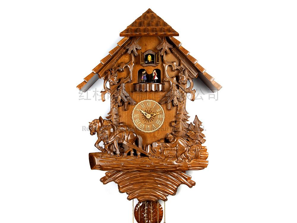 Настенные часы с маятником своими руками 111