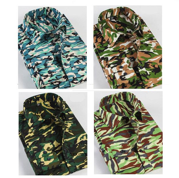 S-4xl Men Camouflage Dress