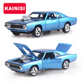 1 32 Scale 16CM Fast Furious7 Alloy Cars Dodge Pull Back Diecast Model Toy with sound