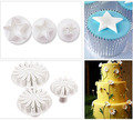 10design 33pcs set Decorating Cake Pastry Plunger Cutters Fondant Cookie Sugarcraft Baking Moulds Kitchen DIY Tools